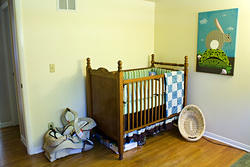 (Nursery) Upstairs Bedroom 2