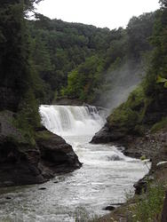 Letchworth State Park, August 2009